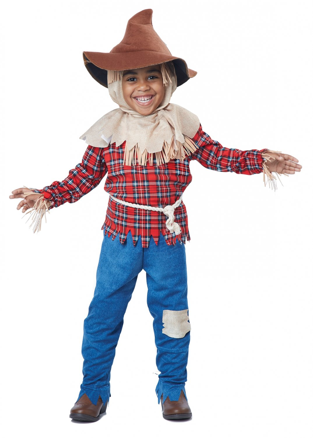 Wizard of Oz Harvest Time Scarecrow Toddler Costume Size: Large #00169