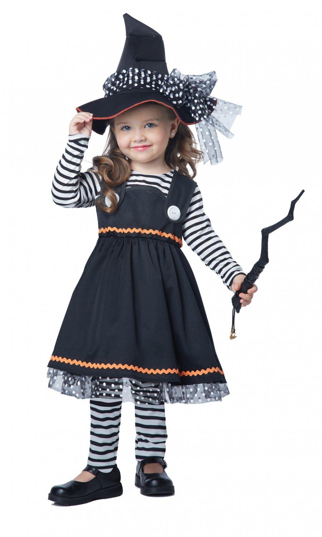 Crafty Little Witch Toddler Costume Size: Medium #00172