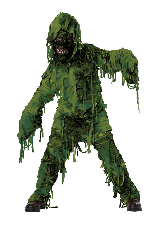 Swamp Monster Zombie Child Costume Size: Medium #00420