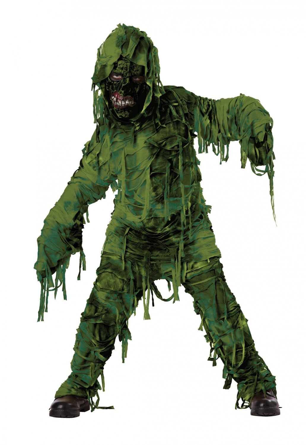 Zombie Swamp Monster Child Costume Size: Large #00420