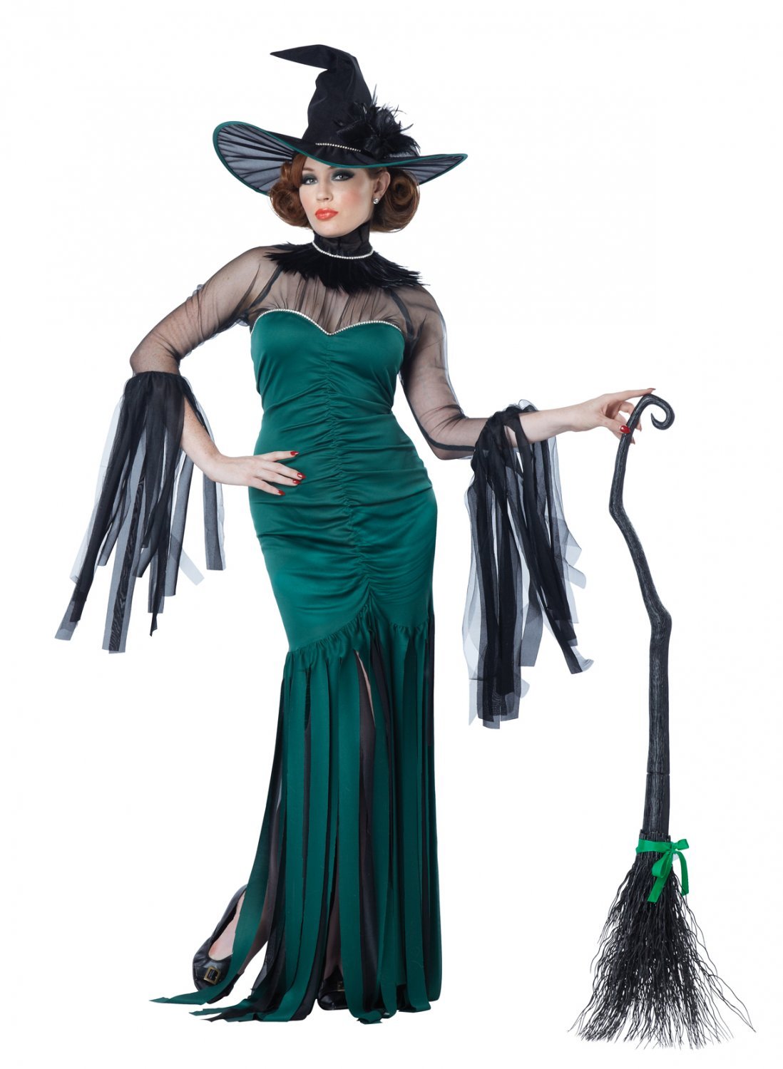 Emerald Witch Grand Sorceress Adult Costume Size: X-Small #01574