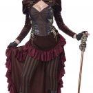 Victorian Steampunk Adult Costume Size: X-Small #01573
