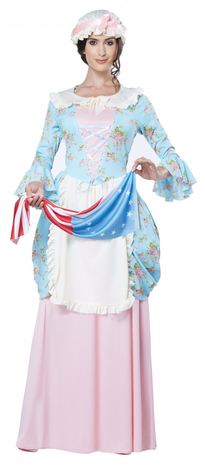 Pilgrim Colonial Lady Betsy Ross Adult Costume Size: Large #01566