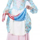 Colonial Lady American Flag Betsy Ross Adult Costume Size: Small #01566