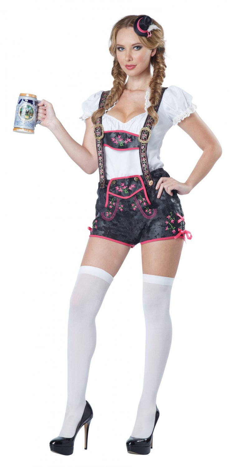 Oktoberfest Flirty Tavern Bar Maid Adult Costume Size: Medium #01509