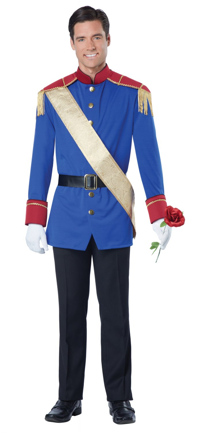 Disney Storybook Prince Charming Adult Costume Size: X-Large #01507