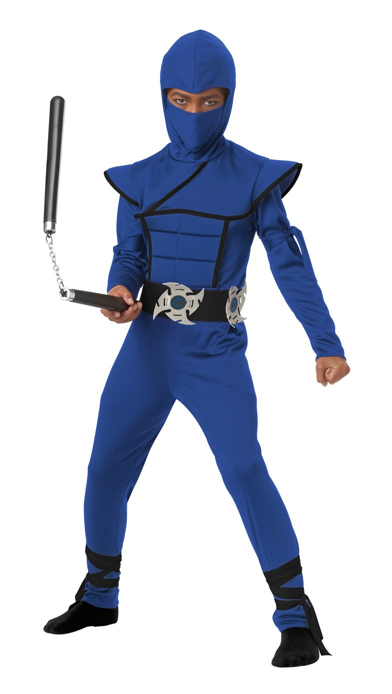 Stealth Ninja Samurai Warrior Child Costume Size: Medium #00505