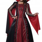 Victorian Vampira Dracula Child Costume Size: Medium #00502