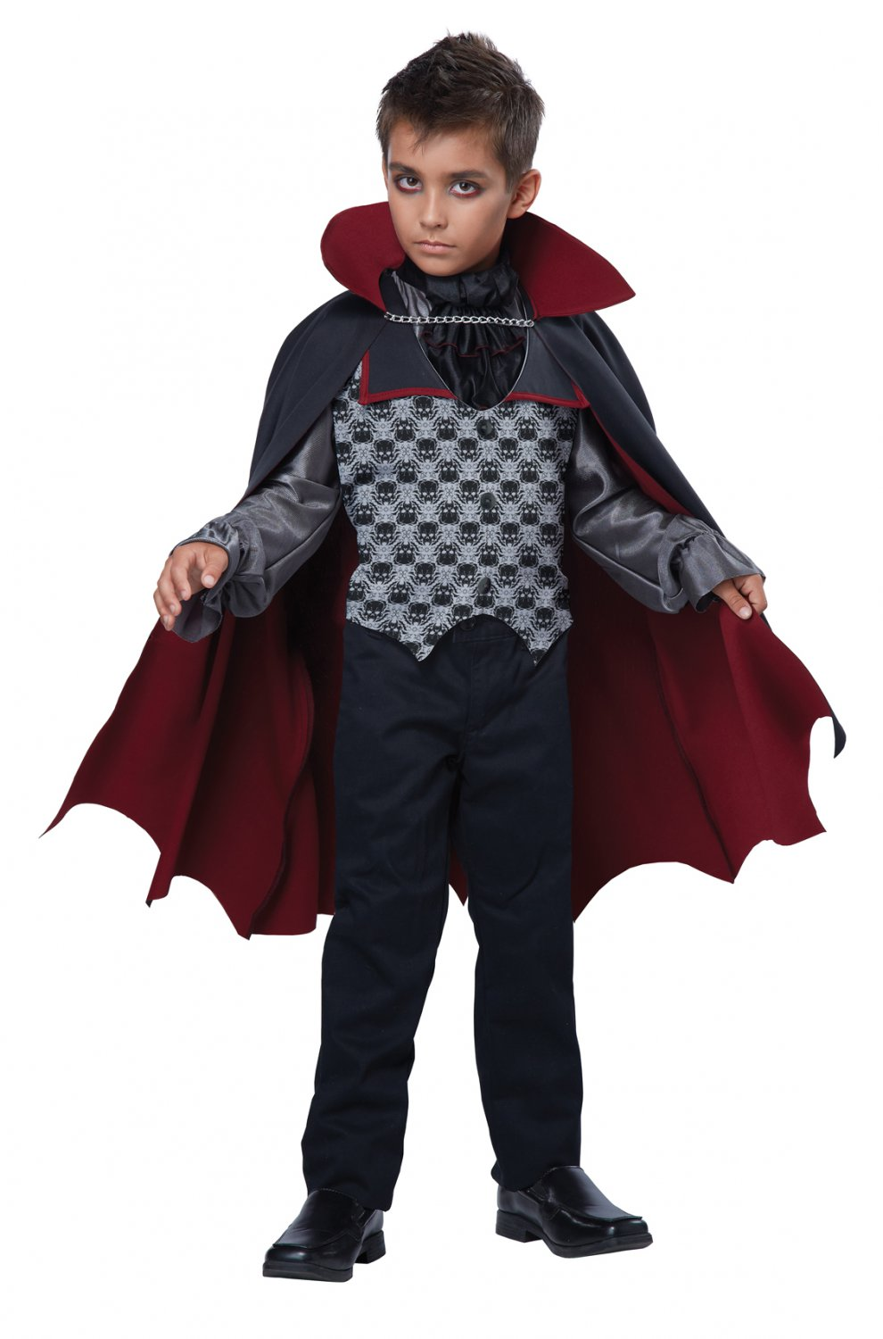 Vampire Count Bloodfiend Child Costume Size: Large #00501
