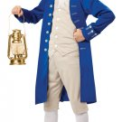 Colonial Thanksgiving Patriotic Paul Revere Child Costume Size: Medium #00486