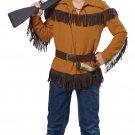 Thanksgiving Western Frontier Boy/Davy Crockett Child Costume Size: Large #00485