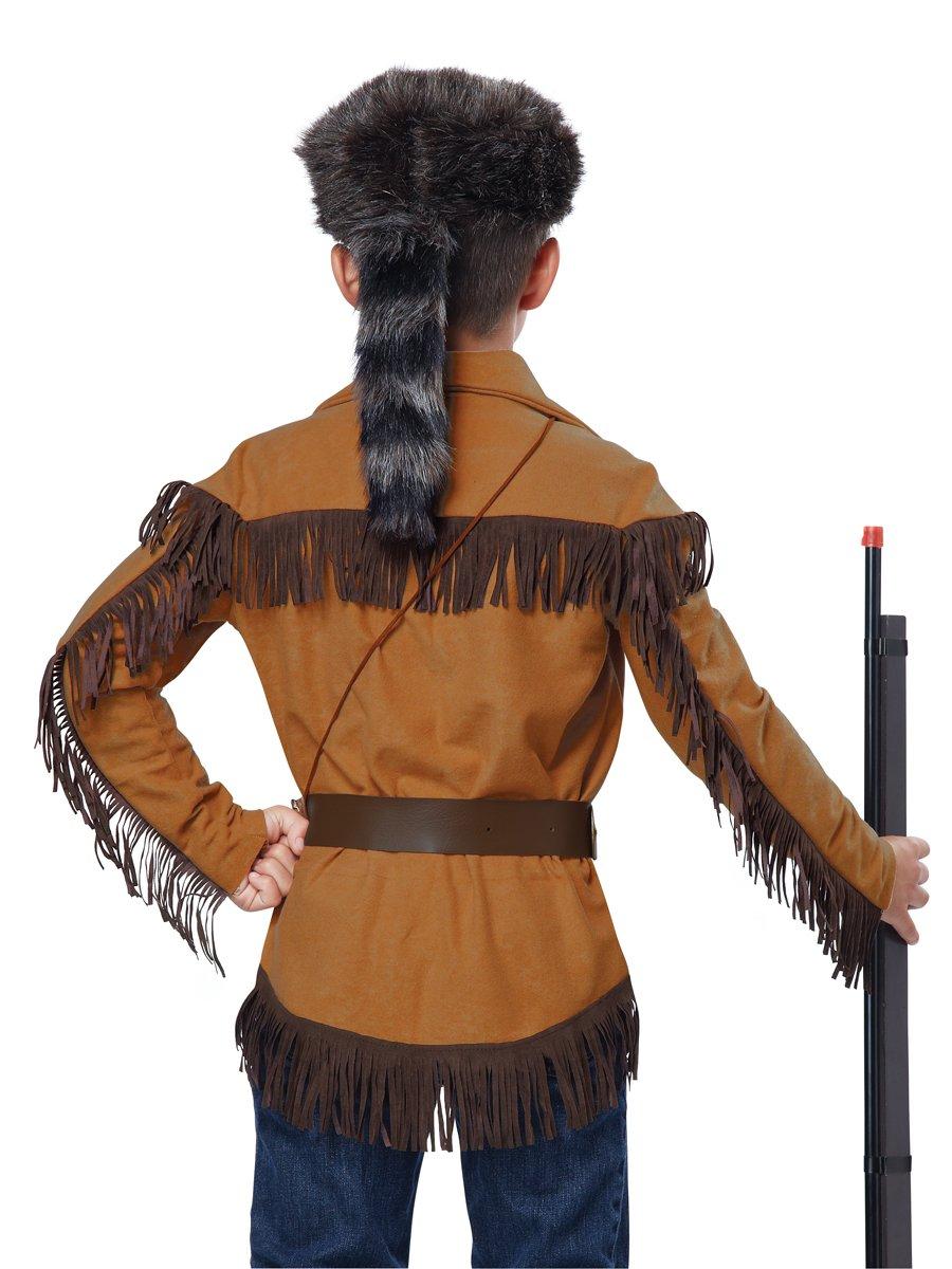 Thanksgiving Western Frontier Boy/Davy Crockett Child Costume Size: Medium #00485