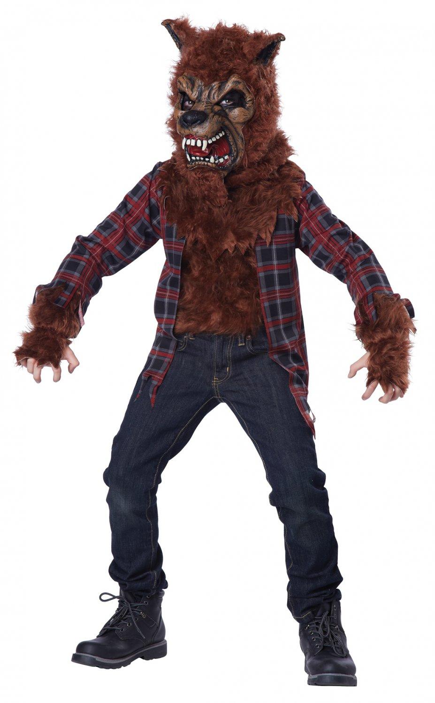 Werewolf Blood Moon Child Costume Size: Large #00474