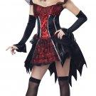 Transylvanian Tempetress Vampire Dracula Adult Costume Size: X-Small #01575