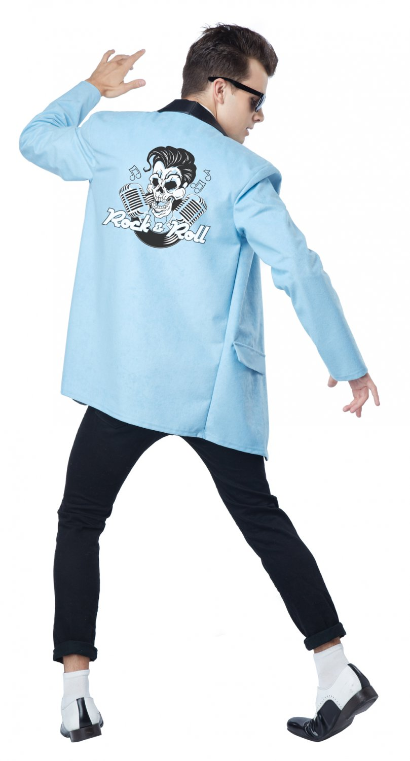 50's Teen Idol Rock and Roll Adult Costume Size: X-Large #01583