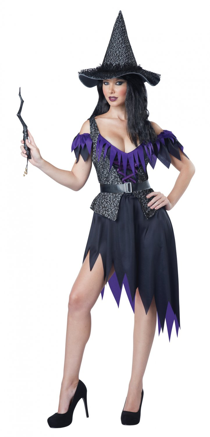Black Magic Witch Adult Costume Size: X-Small #01584