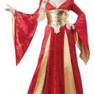Renaissance Medieval Queen Adult Costume Size: Large #01589