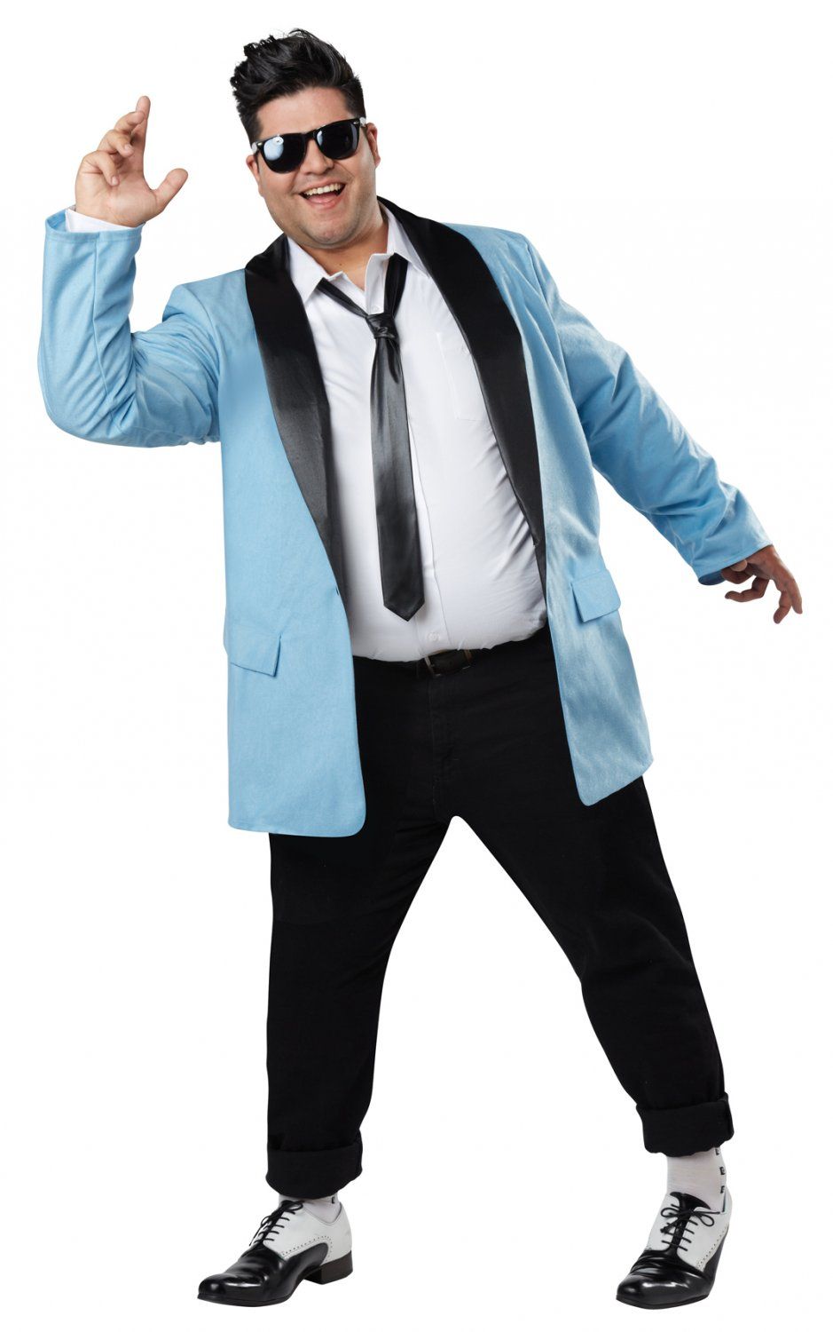 50's Teen Idol Rock and Roll Plus Size Adult Costume #1759