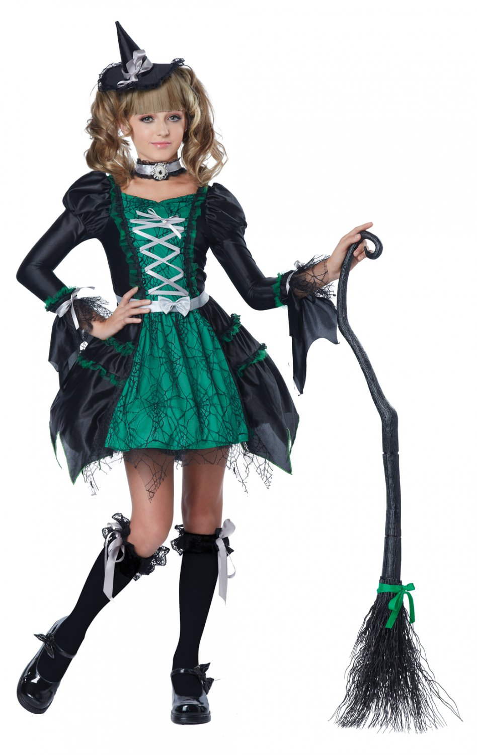 Spiderina the Witch Tween Costume Size: X-Large #04086