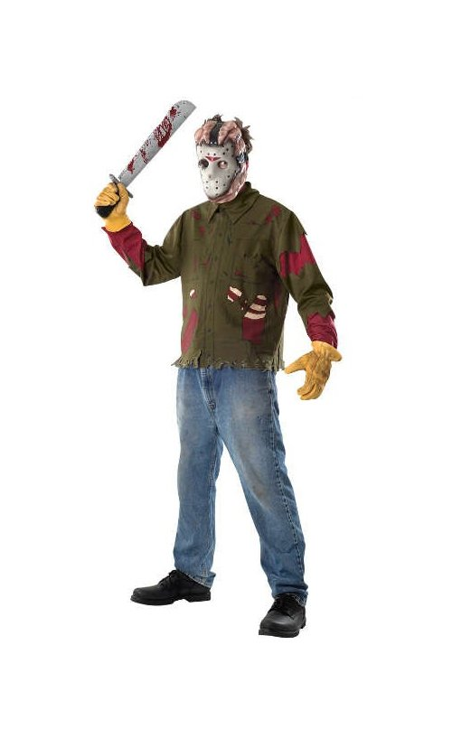 Friday the 13th Costume Kit: Jason - Adult's One Size Fits Most #17058