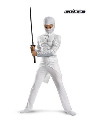 G.I. Joe Retaliation Storm Shadow Classic Muscle Chest Child Costume Size: Large #42593G