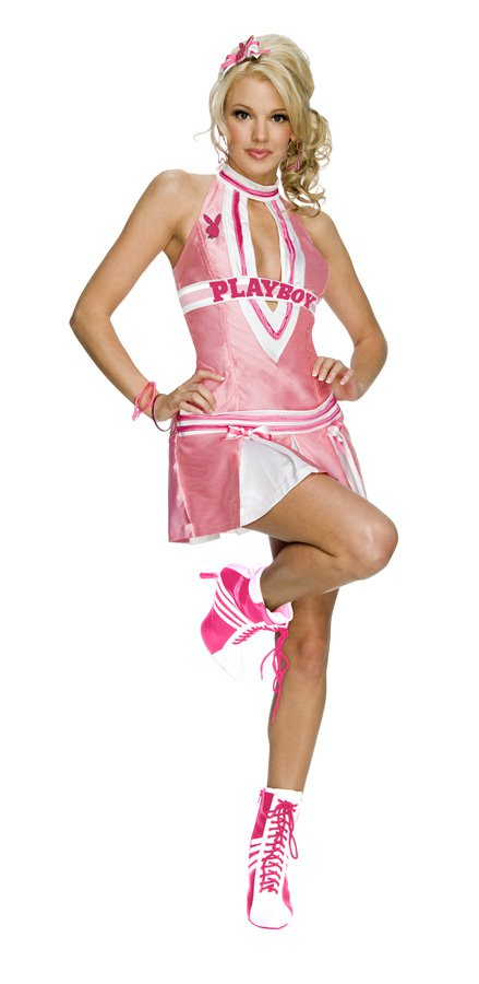 Playboy Sexy Cheerleader Adult Costume Size:Small #889639s