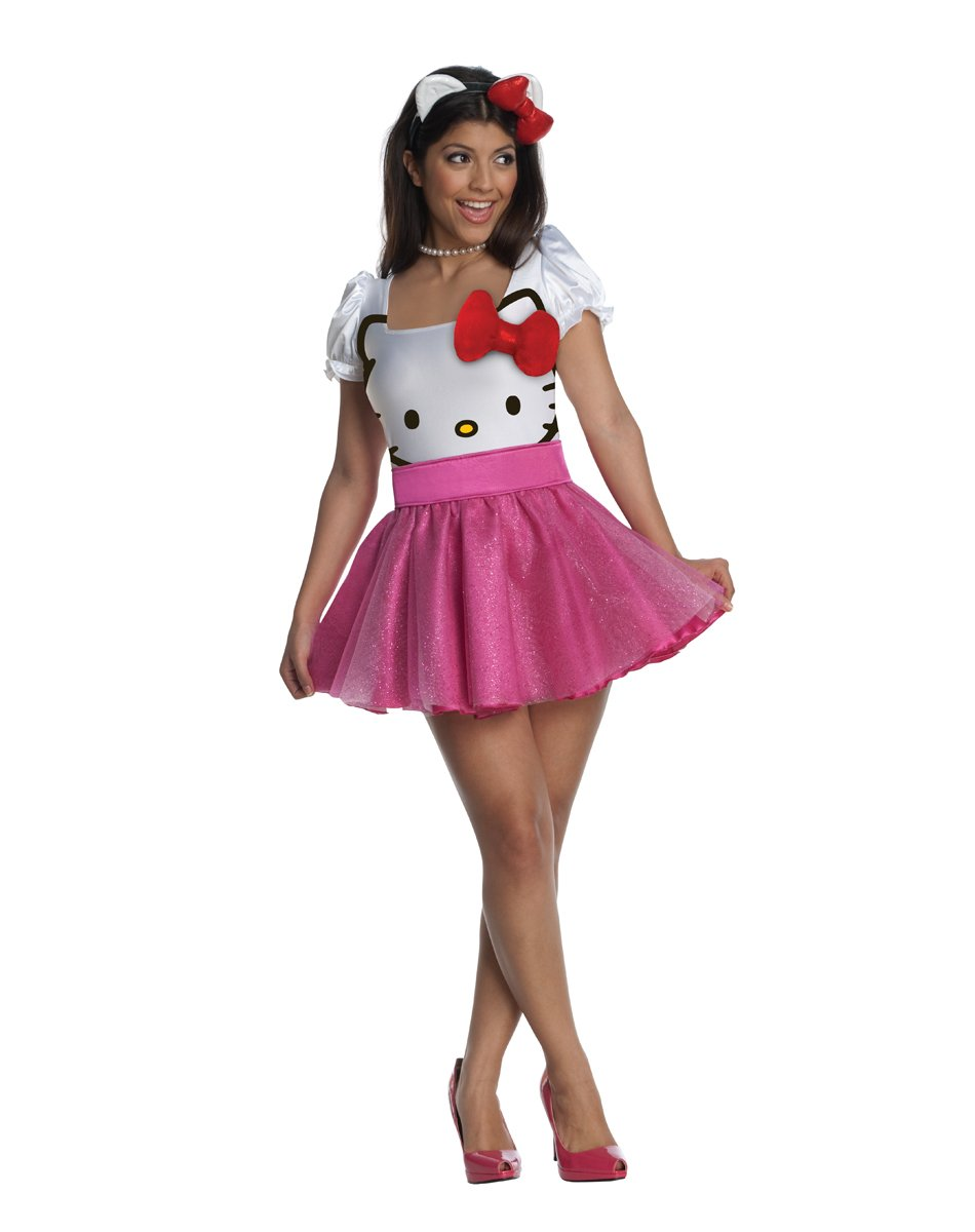 Hello Kitty Adult Costume Size Small #889962S
