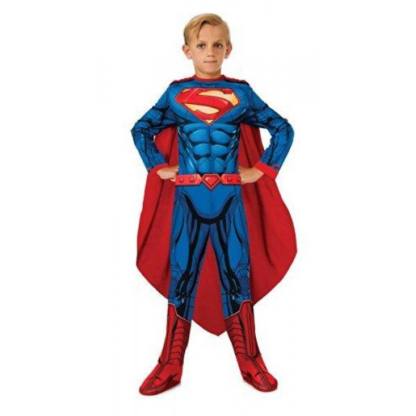 Superman Man of Steel Child Costume Size: Large #881298L