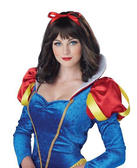 Snow White Adult Costume Wig (Brunette) #70821
