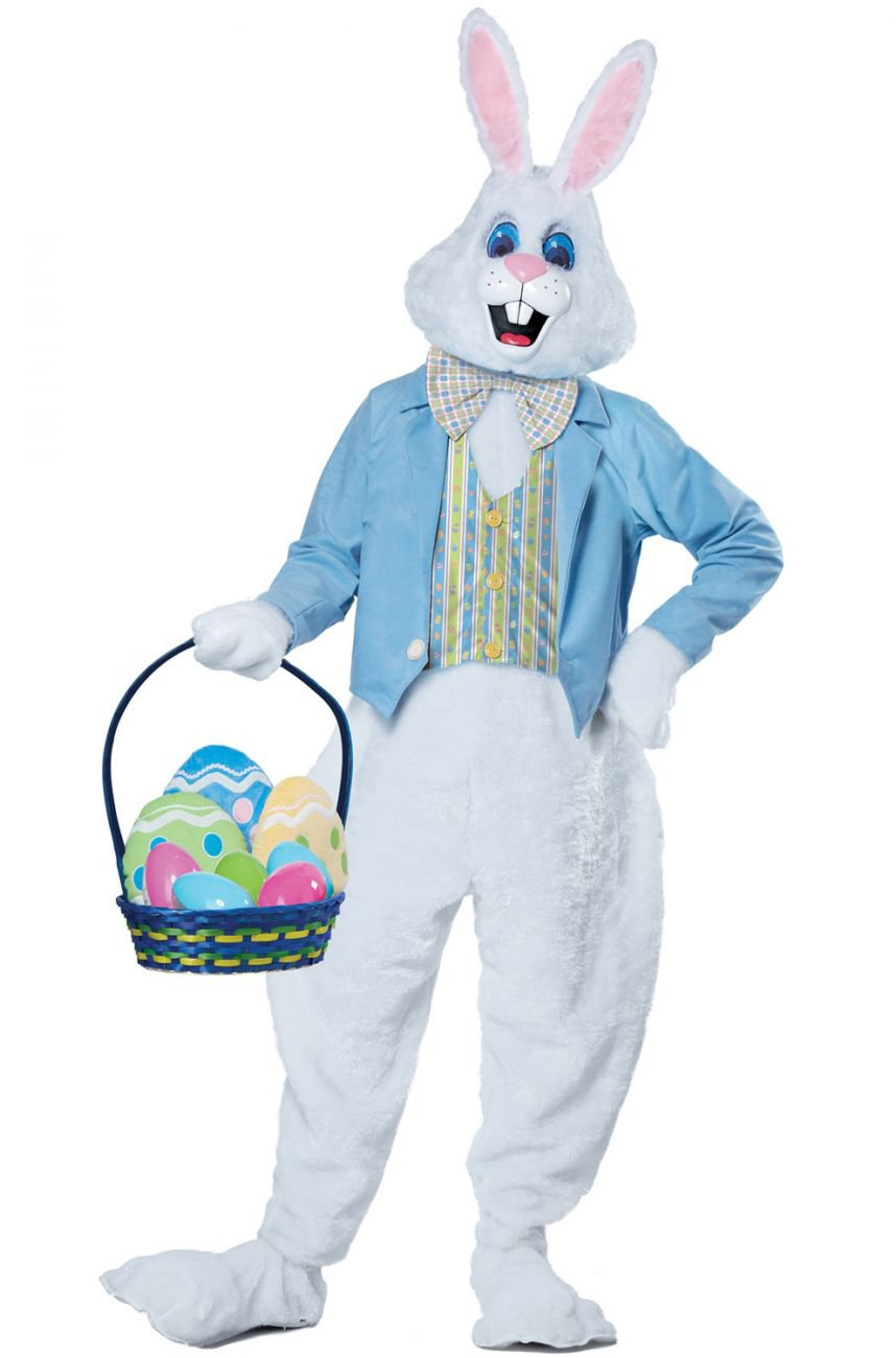 Deluxe Easter Bunny Rabbit Adult Costume Size: Small/Medium #1567