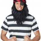 Pirate of the Caribbean Get Up Adult Costume Bandanna & Beard #60662