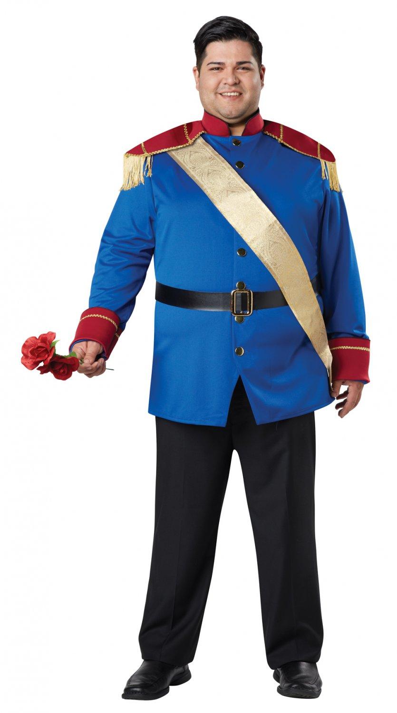 Disney Storybook Prince Plus Size Adult Costume #1760