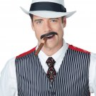1920's Mafia Mobster Gangster Stache (Brown) #70836