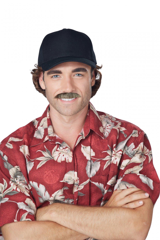 The Magnum P I Moustache (Brown) #70834