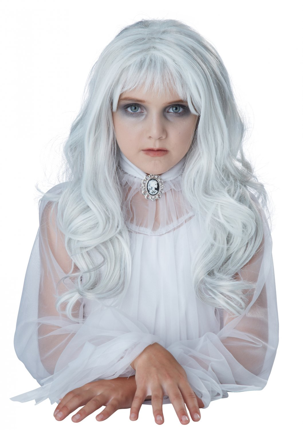 #70833 Ring Witch Spiritual Ghost Child Wig