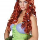 Disney Ariel Mermaid Aquatic Fantasy Wig (Auburn) #70828