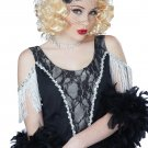 1920's Fashion Flapper Savoir Faire Wig (Blonde) #70808