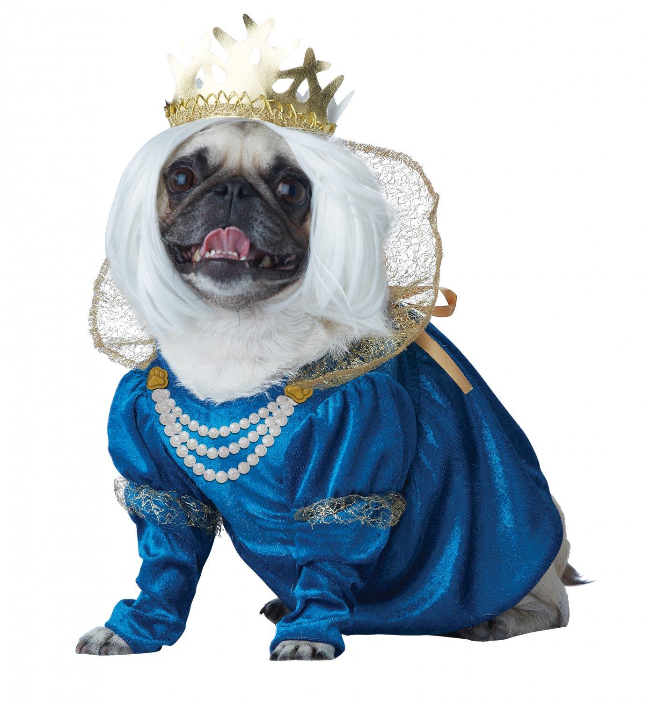 Renaissance Queen of Bones Pet Dog Costume Size: Medium #20139