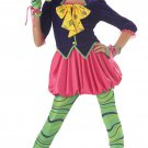 Alice In Wonderland The Mad Hatter Teen Child Costume Size: Teen Jr. (7-9)  #PC5004
