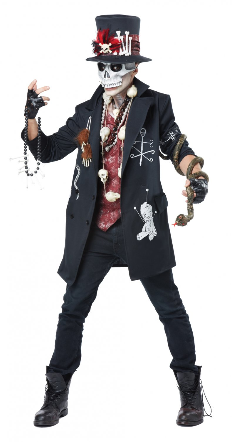 Witch Doctor Voodoo Dude Magic Adult Costume Size: X-Large #01401