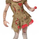 Voodoo Dolly Witch Craft Child Costume Size: Large #04078
