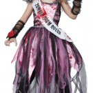 Walking Dead Zombie Prom Queen Child Costume Size: Large #00529