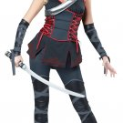 Sexy Ninja Japanese Samurai Woman Warrior Adult Costume Size: Small #01357