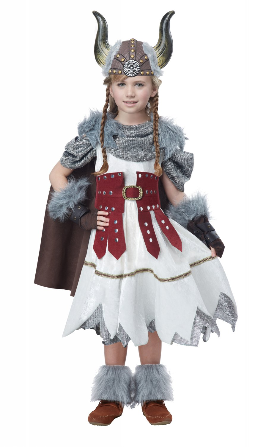 Nordic Valorous Vikings Girl Game of Thrones Child Costume Size: Large #00532
