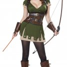 Sexy Lady Robin Hood Medieval Times Adult Costume Size: Small #01358