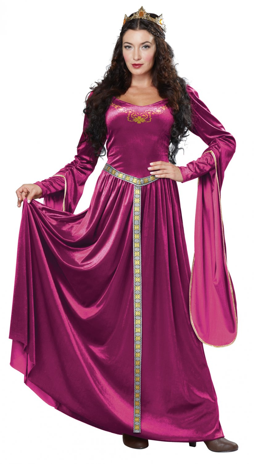 Lady Guinevere Medieval Times Adult Costume Size: X-Large #01379