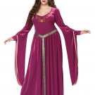 Queen Lady Guinevere Medieval Times Knight Adult Plus Size Costume Size: 2X-Large #01718