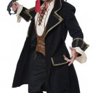 Black Beard Buccaneer Deluxe Pirate Captian Adult Costume Size: Large #01397