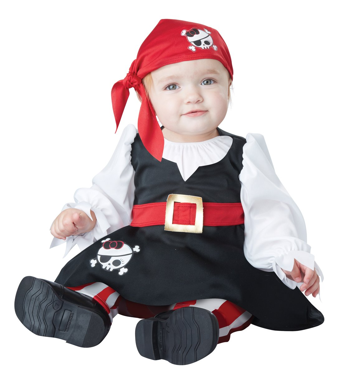 Buccaneer Petite Pirate Baby Infant Costume Size: 12-18 Months #10028