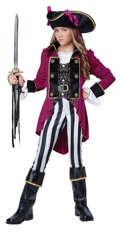 Buccaneer Fashion Pirate Captain Child Tween Costume Size: X-Large #04089